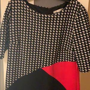 Elegant checkered dress